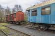 Alte oldtimer Eisenbahn