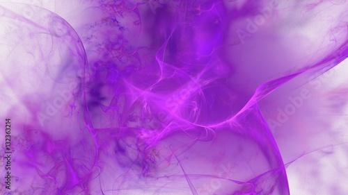 Poster Prune Weicher nebelartiger Hintergrund - violett