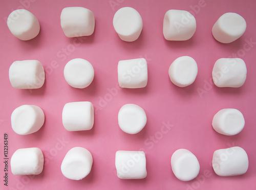 Cuadros en Lienzo geometric pattern of marshmallows