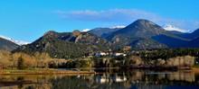 Estes Lake In Estes Park, Colo...