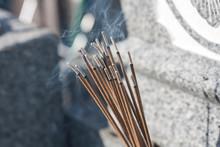 Incense Stick Smoke Praying