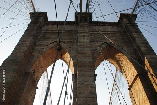 Fototapety, obrazy: Puente Brooklyn