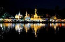 Burmese Architectural Style Of Wat Chong Klang And Wat Chong Kha