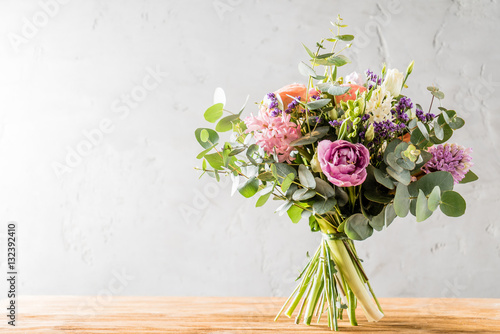 Canvas Print spring bouquet