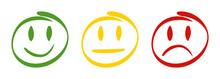 3 Feedback Smileys
