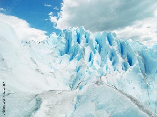 Foto op Aluminium Fantasie Landschap Glaciar