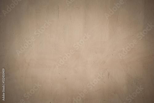 Fotografía  Old beige grunge concrete wall