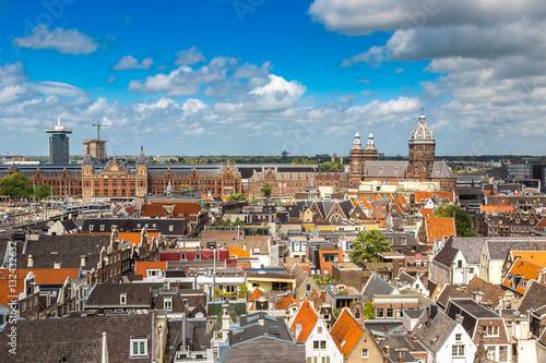 Staande foto Praag St. Nicolas Church in Amsterdam