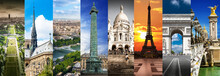 Parigi Collage Orizzontale