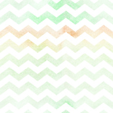 Seamless Watercolor Paper Chevron Pattern Background. Pastel Colors.
