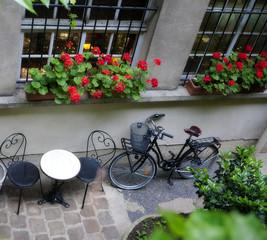 Fototapeta na wymiar French Window