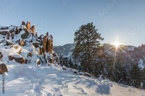 Fotografía  Settlers Park Winter Sunset