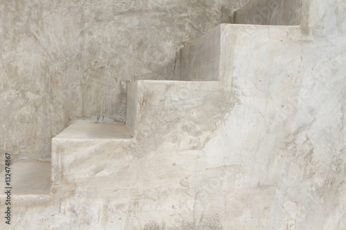 Photo Stands Stairs Cement stair texture modern background, side view