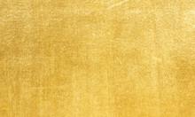 Sheet Metal Gold Solid Black Background