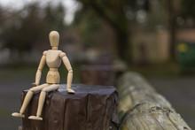 Wooden Mannequin Study