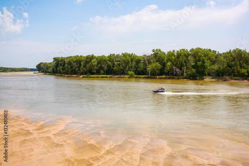 Valokuva  Platte River, west of Omaha, Nebraska