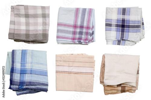 Pure  men's handkerchief Fototapete