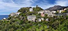 Nonza Village In Cap Corse Pen...