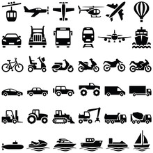 Transport Icon Collection - Ve...