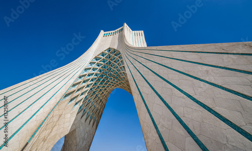 Azadi Tower in Tehran city, Iran
