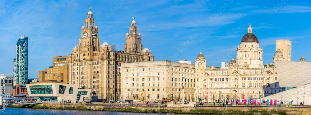 Fototapety, obrazy: Liverpool Waterfront