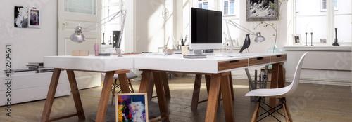 Atelier - Panorama Canvas Print