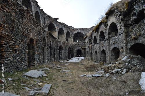 Papiers peints Fortification Cortile Forte Variselle - Moncenisio