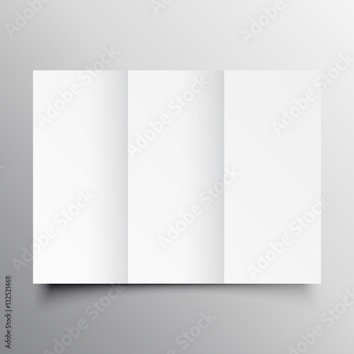Trifold Brochure Mockup Template Buy This Stock Vector And Explore