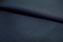 Close Up Pattern Texture Dark Blue Fabric Of Suit