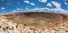 Meteor Crater Panoramic View, ...