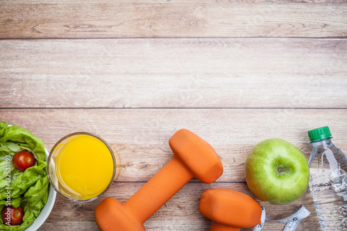 Fotografia  Fitness Healthy Diet Background