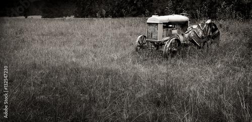 Fototapety, obrazy: Tractor