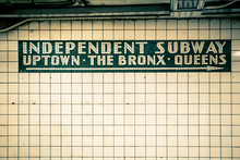 Retro Tiled Wall In New York C...