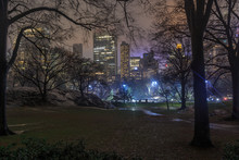 Wollman Rink In Central Park A...