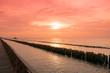 Landscapes Sunset over sea
