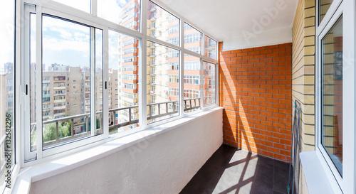 Glazed balcony Wallpaper Mural