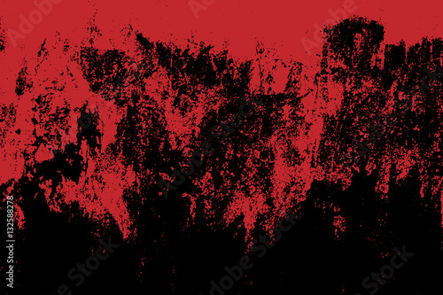 Fotografie, Obraz Grunge style Halloween background with blood splats