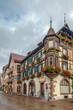Street in Kaysersberg, Alsace, France