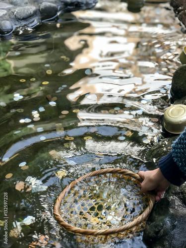 Photo  Zeniarai (money washed)