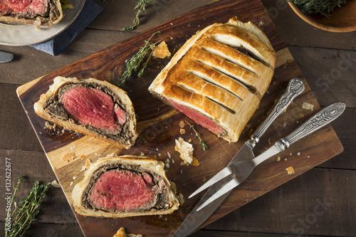 Photo  Homemade Christmas Beef Wellington