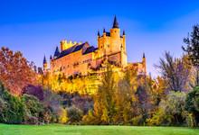 Alcazar Of Segovia, Castile, S...