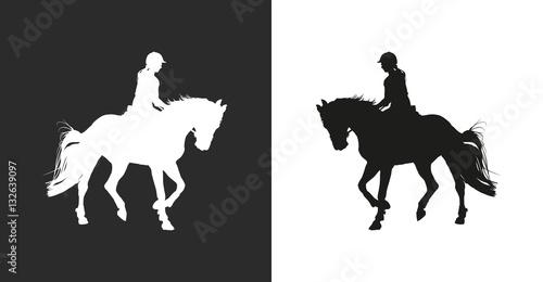 Obraz na płótnie Horsewoman
