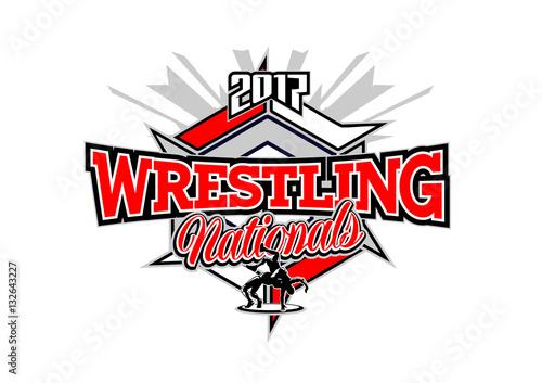 Fotografie, Obraz  wrestling vector