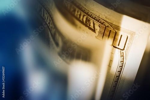 Fototapeta US Dollars Banknotes obraz