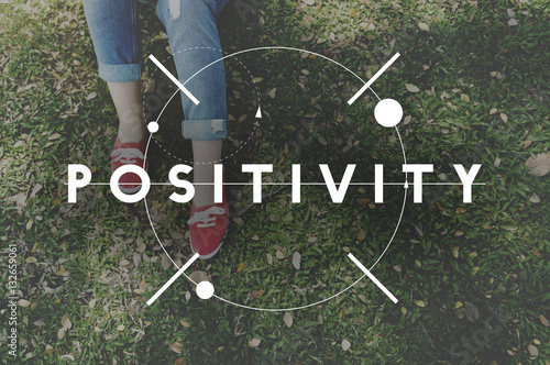 Photo  Positivity Positive Vibes Only Attitude Inspire Concept