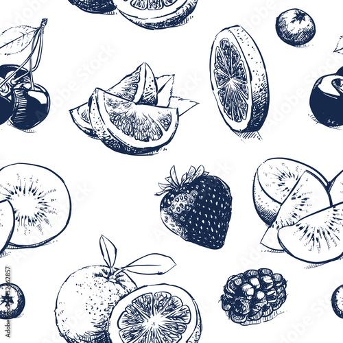 recznie-rysowane-zbior-owocow