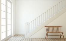 Stairway. 3d Render.