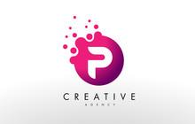Letter P Logo. P Letter Design Vector