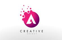 Letter A Logo. A Letter Design...