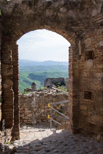 Foto op Plexiglas Toscane Old city Craco in Basilicata